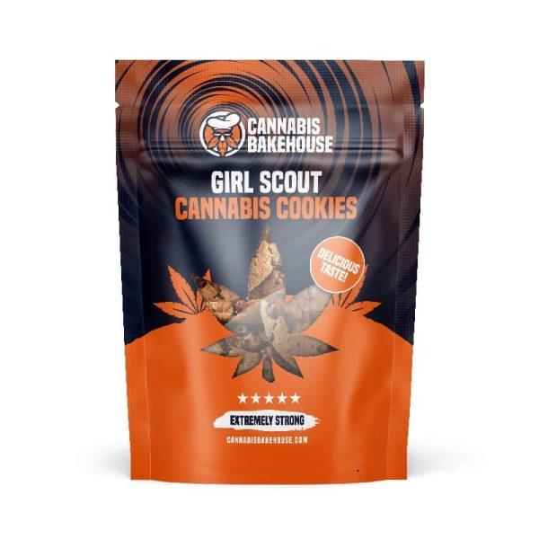 Girl Scout Cannabis Cookies - CannabisBakehouse.com