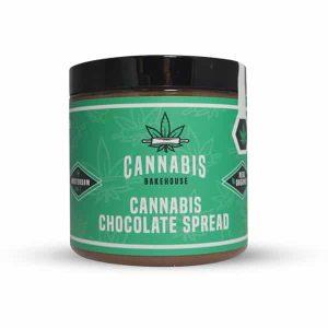 Chocoladepasta met cannabis