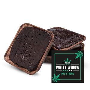 White Widow brownie