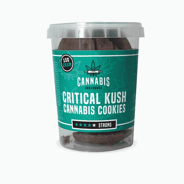 Critical Kush Cannabiskoekjes