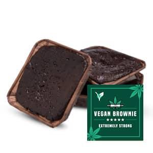 Veganistische brownie