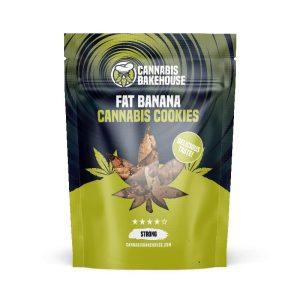 Fat Banana Cookies - CannabisBakehouse.com