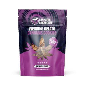 Wedding Gelato Cookies - CannabisBakehouse.com